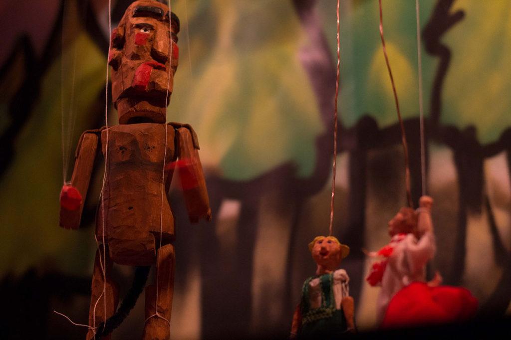 Bábkové divadlo: O Čertovi Kolofónovi
